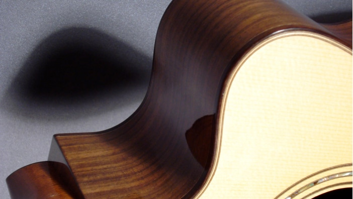 Image of hand-built guitar